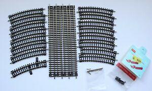 N gauge track bundle 4 straights and 16 curves