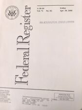 Federal Register Aviation Magazine V.71 No.82 April 28, 2006 FAL 091017nonrh