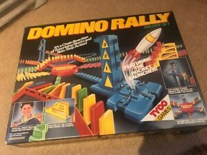 DOMINO RALLY DELUXE VINTAGE SET BOXED
