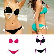 Polyamide Halterneck Unbranded Regular Swimwear for Women