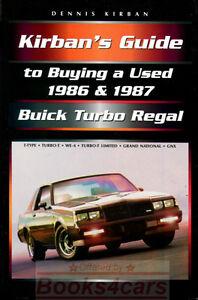 TURBO REGAL GRAND NATIONAL BUICK BOOK KIRBAN