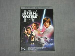 STAR WARS 4  A NEW HOPE DVD