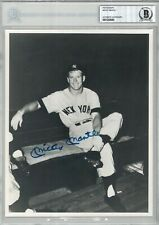 Mickey Mantle Signed 8x10 BAS 00012306989 (d) NY Yankees HOF