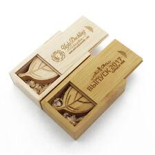Wooden leaf usb 2.0 3.0 Flash Drive memory stick can custom DIY logo