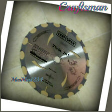 Craftsman 7-1/4 in Premium Circular Saw Blade Corded 64327 - NEW - Fast Shipping