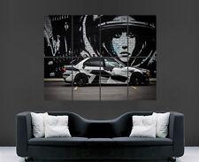 BMW POSTER E38 CAR GRAFFITI CAMO CLASSIC WALL ART PICTURE PRINT LARGE