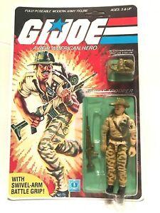 Vintage GI JOE Recondo Figure Original Card ~ Sealed MOC 1983 - 1984 Hasbro