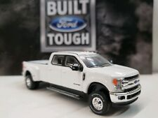 CUSTOM Lariat 2019 Ford 6.7 F350 4x4 lifted 1/64 Greenlight hitch Dually TRUCK