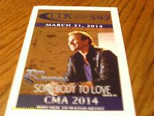 Scotty McCreery Luke Bryan Jamie O'Neal Johnny Cash June Carter 2014 DJ CD