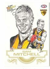 2008 AFL Select Champions promo card for Sam Mitchell