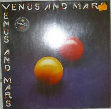 LP-Wings,Venus And Mars (Capitol Records),NM+Poster