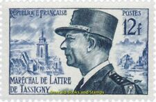EBS France 1954 Marshal de Lattre de Tassigny YT 982 MNH**