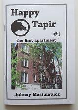ZINE Happy Tapir #1, chapbook, Johnny Masiulewicz, 1980s Chicago, 2016 NEW