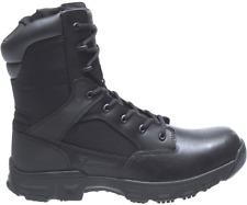 "NIB MEN'S BATES E06688 CODE 6.2 8"" LEATHER/NYLON ZIP TACTICAL BLACK BOOTS $150"