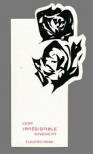 Carte publicitaire - advertising Card  -  Very Irrésistible de Givenchy