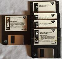 Dilbert Screen Saver Floppy 5 Disk Set Macintosh Volume 1.0 Delrina