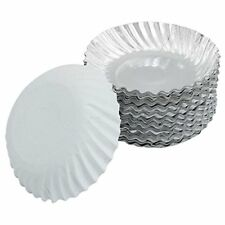 Serving Paper Plates 6 Inch Silver Coated 50 Pcs Pack of 1