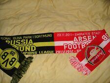 Schal Championsleague 2012 Borussia Dortmund - FC Arsenal L.  Fussball