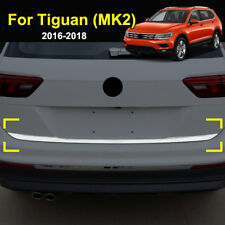For VW Tiguan MK2 2016-2018 Chrome Rear Trunk Tailgate Door Lid Cover Trim Strip