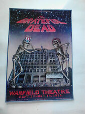 Grateful Dead Warfield Poster 80 Larkins Barsotti Art of Rock 4.45 Rp-2 edition