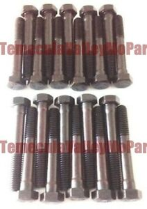Set of Cylinder Head Bolts for 1933-1948 Plymouth - Dodge - DeSoto - Chrys Six