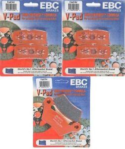 13-14 EBC Semi-Sinter Bremsbeläge FA631V hi CAN-AM Spyder 1000 ST-S SE5 Halbau