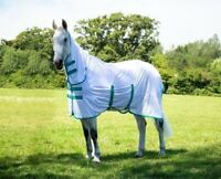 Bridleway Cooling Mesh Full Neck Combo Horse Fly Rug With Belly & Tail Flap