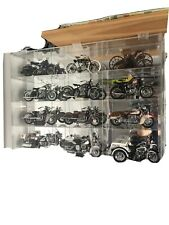 1:10 Franklin Mint Mirrored Acrylic Case Display For 12 Motorcycles