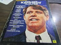 ROBERT FRANCIS KENNEDY - MEMORIAL ISSUE - COLLECTORS EDITION 1968