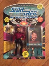 "NEW 1993 ,PLAYMATES TOYS, STAR TREK THE NEXT GENERATION, ""COM. WILLIAM T. RIKER"""