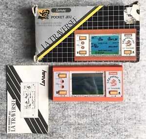 La Traversee (The Crossing) : Lansay : LCD Pocket Game : Tested!