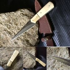 Clearance Sale Handmade custom damascus KNIFE With Real Camel Bone 8 Inches