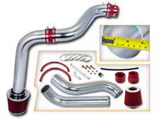 BCP RED 92-96 Honda Prelude 2.2L/2.3L L4 Cold Air Intake Racing System + Filter