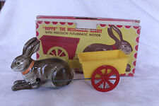 RARE Hoppo the Mechanical Rabbit Easter Automatic Toy Co. in Original Box