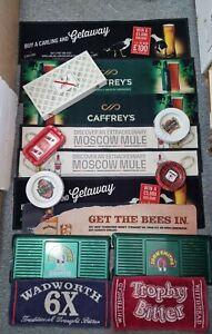 Job lot Bar runner ashtray pub memorabilia bundle-carling embassy john smiths .