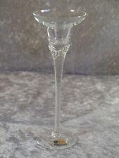 Bohemia Kristallglas Glas Kerzenhalter Kerzenständer Kerzenleuchter 21,5 cm