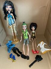 Monster High Doll Lot Cleo And Deuce