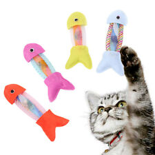 Fish Shape Cat Interactive Playing Toys Kitten Throwing Toys Pet Cat Supplies