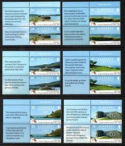 Alderney Stamps 2008 SG A342-A347   25th Anniversary of Alderney Stamps Mint MNH