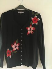 Chesca Size 2 Approx 16 18 Cardigan Christmas