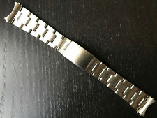 Bracelet 555 Ends For Rolex 34Mm Case 19Mm Folded Center Links Steel Oyster Band