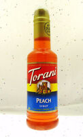 Torani ~ Peach Syrup ~ Add to Your Drinks ~ 12.75oz Bottle