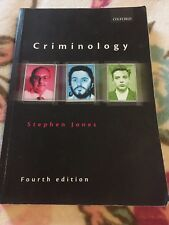 Criminology by Stephen Jones (Paperback, 2009)