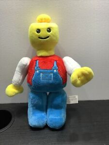 Lego Man Plush Construction Worker Soft Toy 9 Inch Collectable