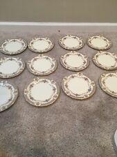 "Minton Royal Doulton Salad Plates Persian Rose ~8"" Set of 12"