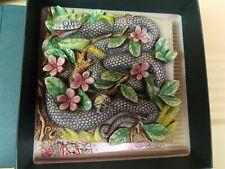 """Picturesque Tiles Byron's Secret Garden """"Garter of Eden"""" Harmony Kingdom"""