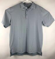 PETER MILLAR Men's XL Summer Comfort Short Sleeve Striped Polo Shirt Blue