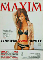 Maxim April 2012 Mens Magazine - Jennifer Love Hewitt Cover - VG
