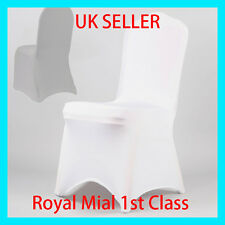 White Spandex Chair Cover Covers Wedding Party Banquet Anniversary