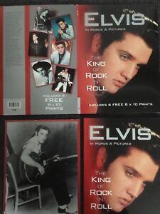 Job Lot Of 2 Elvis Presley Books